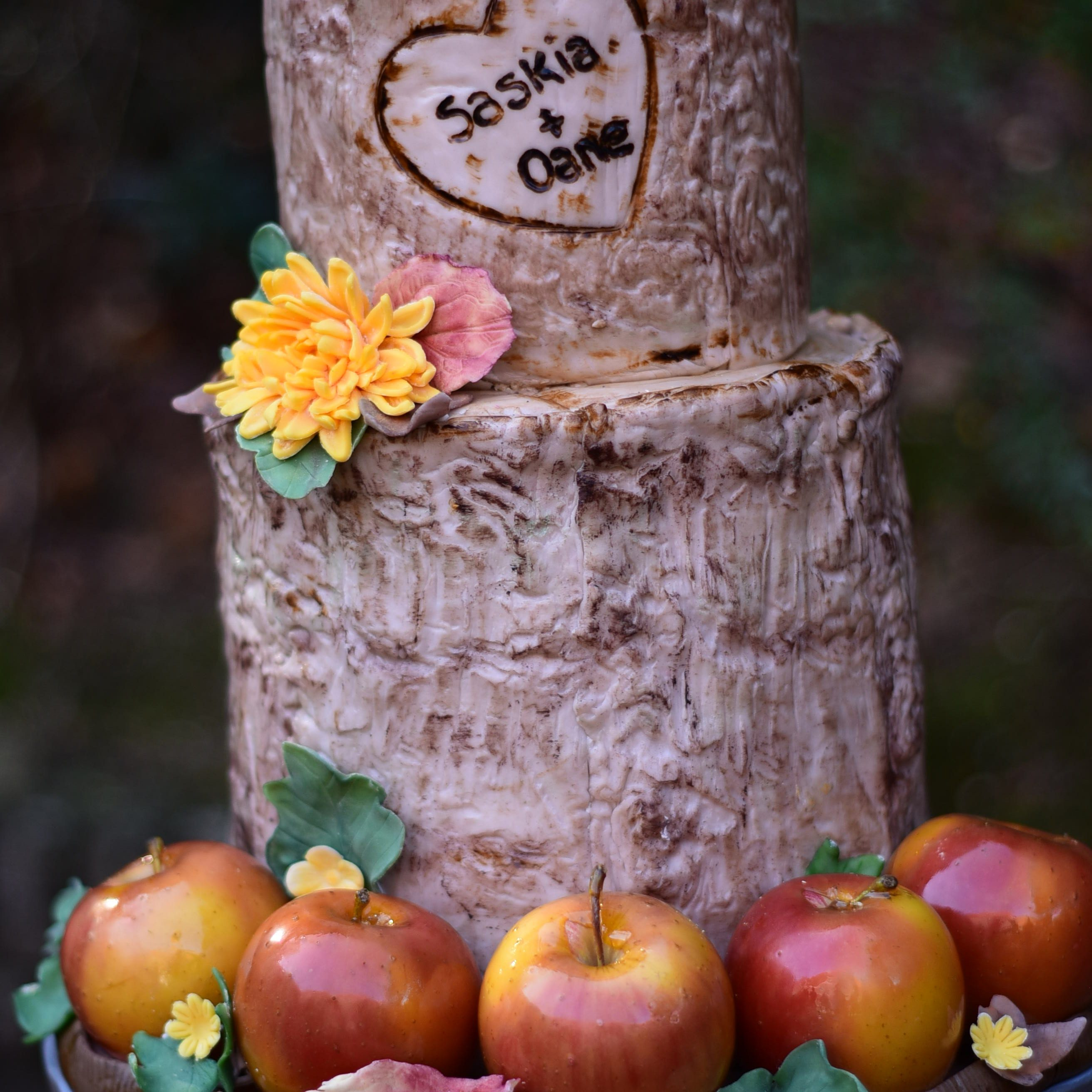 Iris Vreeman (fotografiecursus) - autumn wedding cake (4)